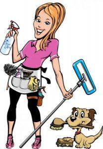 städa hemma flytt